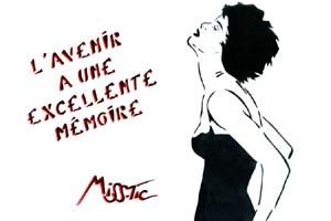 Avenir et Mémoire par Miss.Tic